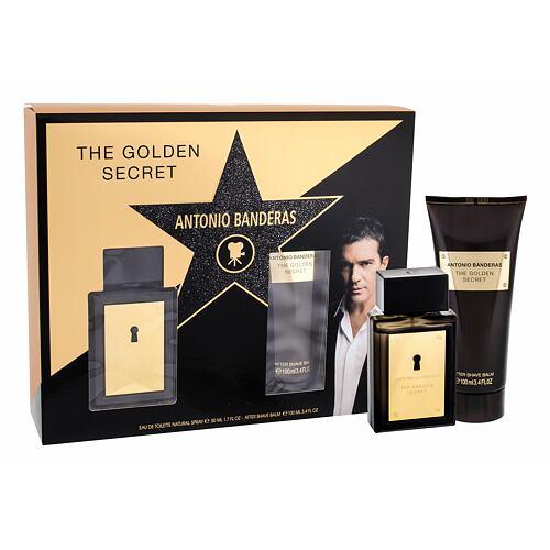 Antonio Banderas The Golden Secret EDT EDT 50 ml + balzám po holení 100 ml pro muže