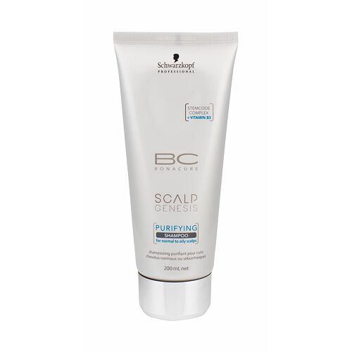 Schwarzkopf BC Bonacure Scalp Genesis Purifying šampon 200 ml pro ženy