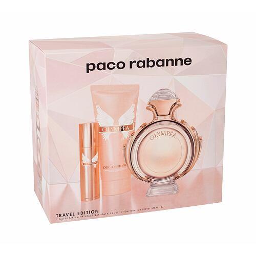 Paco Rabanne Olympea EDP EDP 80 ml + tělové mléko 100 ml + EDP 10 ml pro ženy