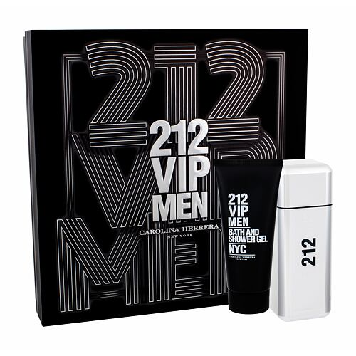 Carolina Herrera 212 VIP Men EDT EDT 100 ml + sprchový gel 100 ml pro muže