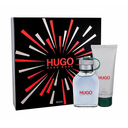 HUGO BOSS Hugo Man EDT EDT 75 ml + sprchový gel 100 ml pro muže