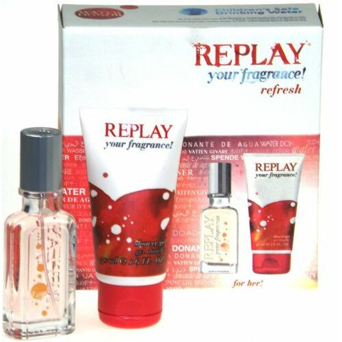 Replay Your Fragrance! For Her EDT EDT 20 ml + sprchový gel 50 ml pro ženy