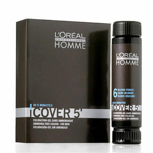 L´Oréal Professionnel Homme Cover 5´ barva na vlasy 3 ml pro muže