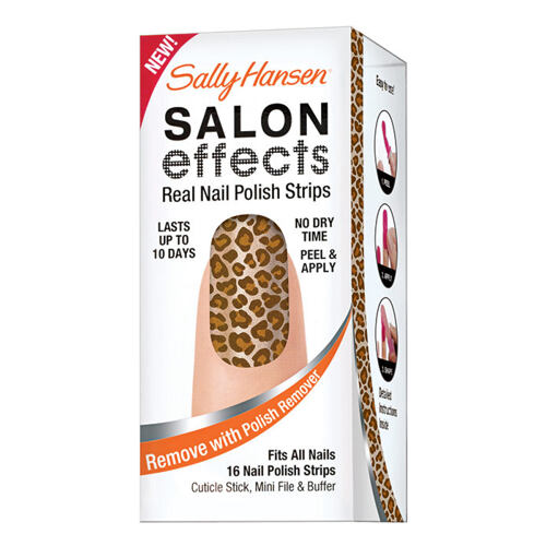 Lak na nehty Sally Hansen Salon Effects Nail Polish Strips 20 g 620 I Dare You Kazeta