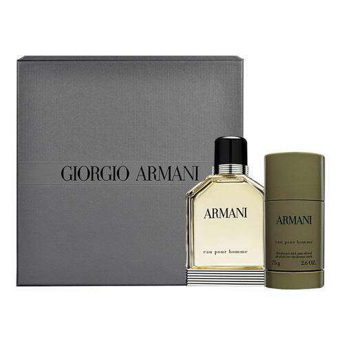 Giorgio Armani Eau Pour Homme 2013 EDT EDT 100 ml + deostick 75 ml pro muže