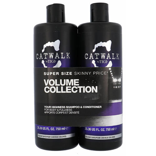 Tigi Catwalk Your Highness šampón šampón 750 ml + kondicionér 750 ml pro ženy