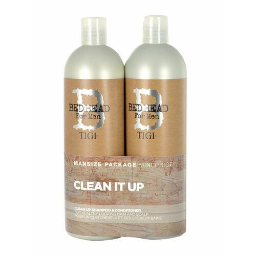 Tigi Bed Head Men Clean Up šampón šampón 750 ml + kondicionér 750 ml pro muže
