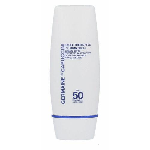 Germaine de Capuccini Excel Therapy O2 UV Urban Shield SPF50 denní pleťový krém 30 ml pro ženy