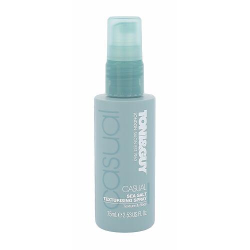 Toni&Guy Casual Sea Salt Texturising Spray pro definici a tvar vlasů 75 ml pro ženy