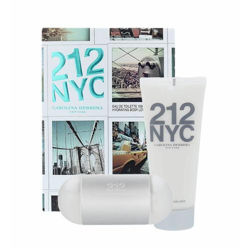 Carolina Herrera 212 NYC EDT EDT 100 ml + tělové mléko 100 ml pro ženy