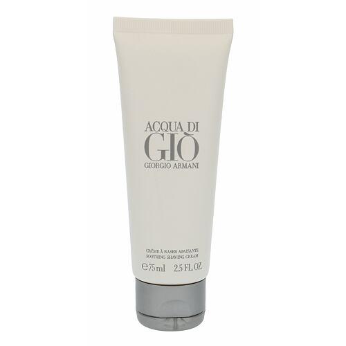 Giorgio Armani Acqua di Gio Pour Homme krém na holení 75 ml pro muže