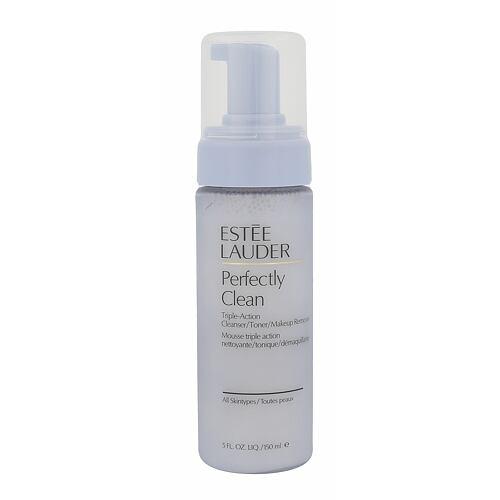 Estée Lauder Perfectly Clean Triple Action Cleanser čisticí emulze 150 ml Tester pro ženy