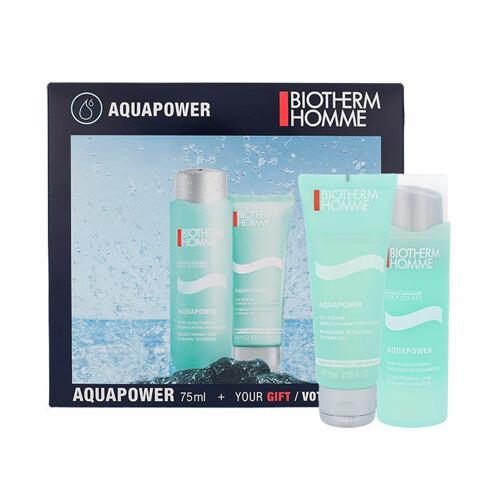 Biotherm Homme Aquapower denní pleťový krém dárková kazeta pro muže