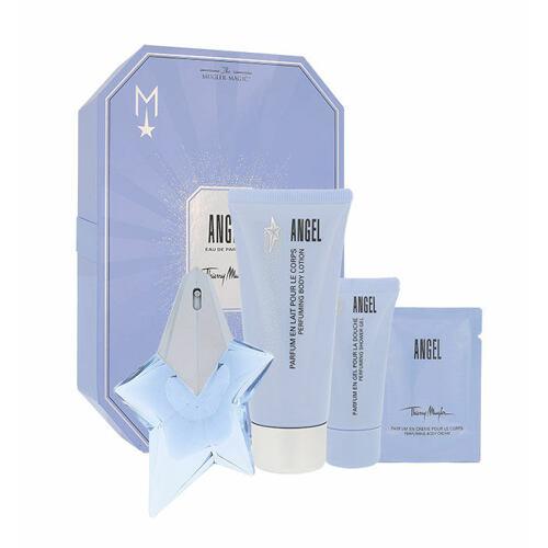 Thierry Mugler Angel EDP EDP 25 ml + tělové mléko 100 ml + sprchový gel 30 ml + tělový krém 10 ml Naplnitelný pro ženy