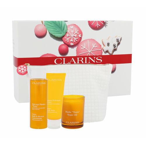 Clarins Tonic Bath Shower Concentrate sprchový gel dárková kazeta pro ženy