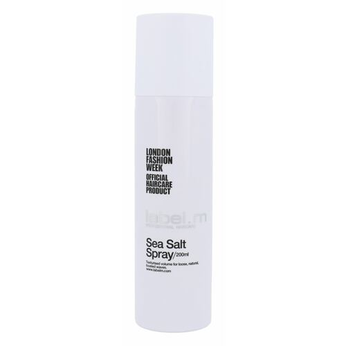 Label m Sea Salt Spray lak na vlasy 200 ml pro ženy