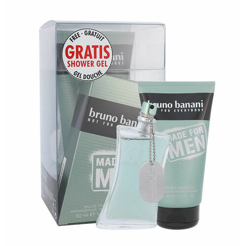 Bruno Banani Made For Men EDT EDT 50 ml + sprchový gel 150 ml Poškozená krabička pro muže