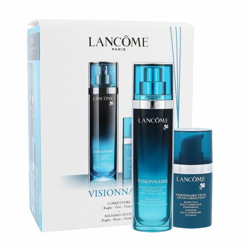 Lancome Visionnaire Advanced Skin Corrector pleťové sérum pleťové sérum 30 ml + oční pleťová péče Visionnaire Yeux Eye On Correction 15 ml pro ženy