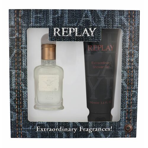 Replay Jeans Original! For Him EDT EDT 30 ml + sprchový gel 100 ml pro muže
