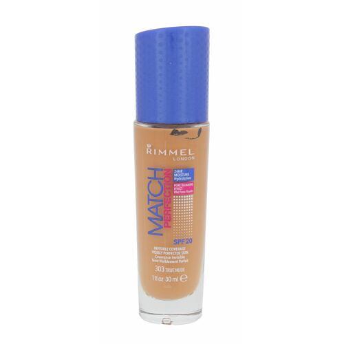 Rimmel London Match Perfection SPF20 makeup 30 ml pro ženy