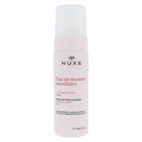 NUXE Rose Petals Cleanser Micellar čisticí pěna 150 ml pro ženy