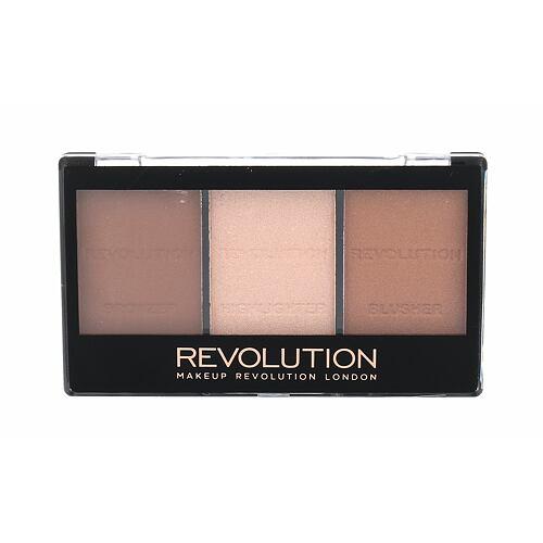 Makeup Revolution London Ultra Sculpt & Contour Kit bronzer 11 g pro ženy