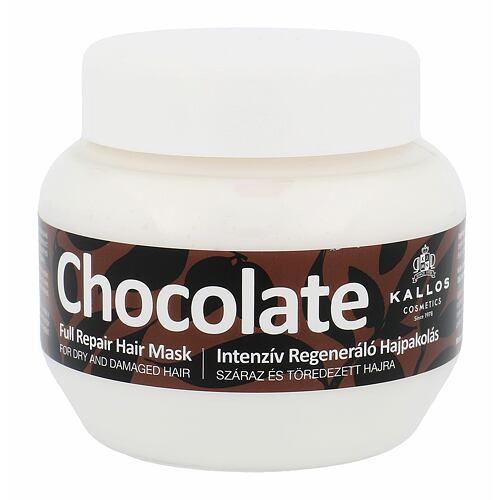 Kallos Cosmetics Chocolate maska na vlasy 275 ml pro ženy
