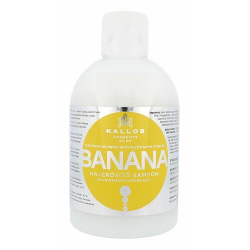 Kallos Cosmetics Banana šampon 1000 ml pro ženy