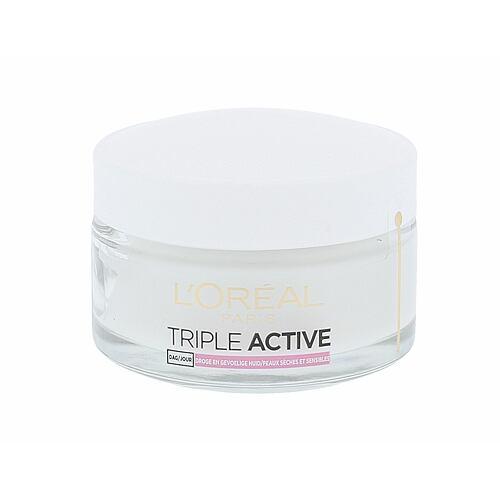 L´Oréal Paris Triple Active denní pleťový krém 50 ml pro ženy