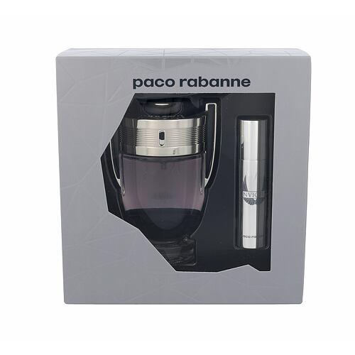 Paco Rabanne Invictus EDT EDT 100 ml + EDT 10 ml pro muže