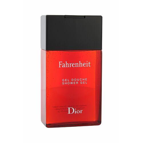 Christian Dior Fahrenheit sprchový gel 150 ml pro muže