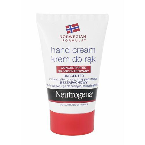 Neutrogena Norwegian Formula Unscented Hand Cream krém na ruce 50 ml pro ženy