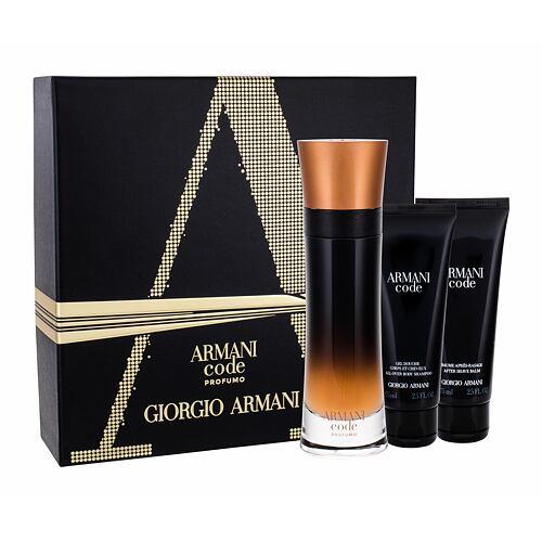 Giorgio Armani Code Profumo EDP EDP 100 ml + sprchový gel 75 ml + balzám po holení 75 ml pro muže