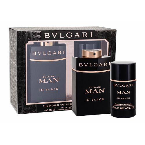 Bvlgari Man In Black EDP EDP 100 ml + deostick 75 ml pro muže