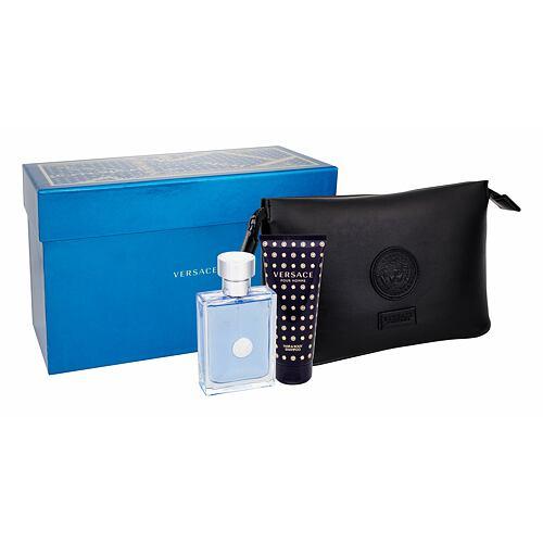 Versace Pour Homme EDT EDT 100 ml + sprchový gel 100 ml + kosmetická taška pro muže