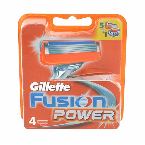Gillette Fusion Power náhradní břit 4 ks pro muže