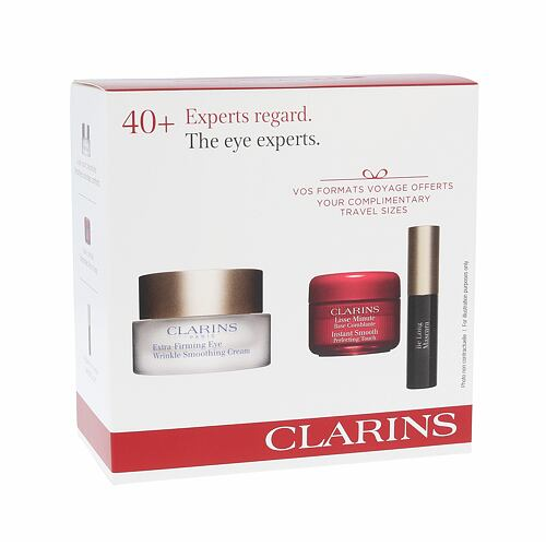 Clarins Extra Firming Wrinkle Smoothing Cream oční krém dárková kazeta pro ženy