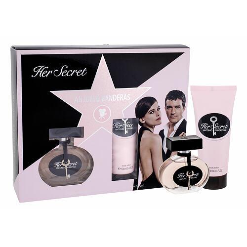 Antonio Banderas Her Secret EDT EDT 50 ml + tělové mléko 100 ml pro ženy