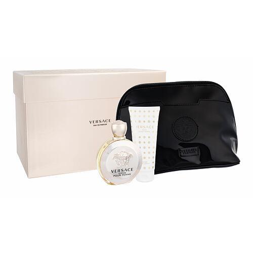 Versace Eros Pour Femme EDP EDP 100 ml + tělové mléko 100 ml + kosmetická taška pro ženy