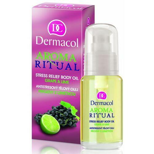 Dermacol Aroma Ritual Stress Relief Body Oil Grape & Lime masážní olej 50 ml pro ženy