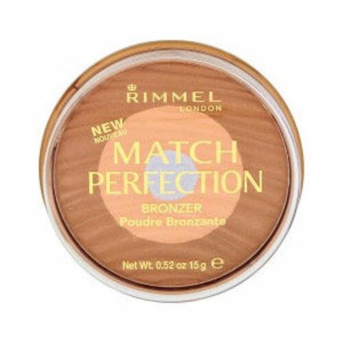 Rimmel London Match Perfection bronzer 15 g pro ženy