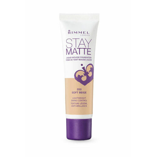 Rimmel London Stay Matte Liquid Mousse Foundation makeup 30 ml pro ženy