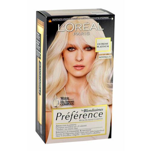L´Oréal Paris Préférence Les Blondissimes barva na vlasy 1 ks pro ženy