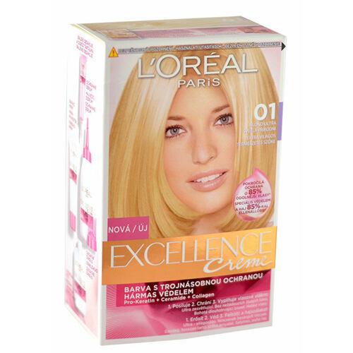 L´Oréal Paris Excellence Creme barva na vlasy 1 ks pro ženy