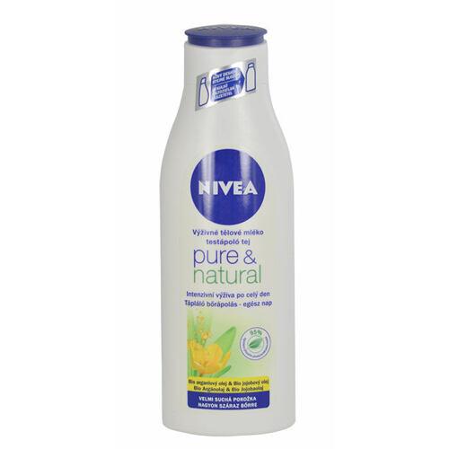 Nivea Pure & Natural tělové mléko 250 ml pro ženy