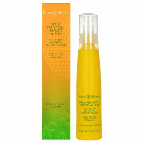 Frais Monde Spray For Hair Subject To Sun Exposures pro lesk vlasů 200 ml pro ženy