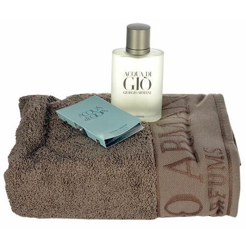 Giorgio Armani Acqua di Gio Pour Homme EDT EDT 100 ml + ručník + EDP 1,5 ml Poškozená krabička pro muže