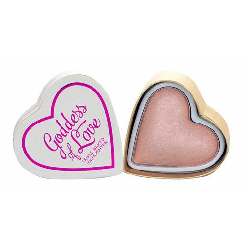 Makeup Revolution London I Heart Makeup Goddess Of Love rozjasňovač 10 g pro ženy
