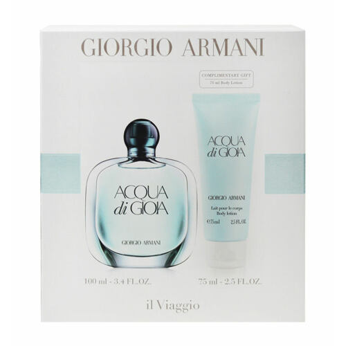 Giorgio Armani Acqua di Gioia EDP EDP 100 ml + tělové mléko 75 ml Poškozená krabička pro ženy