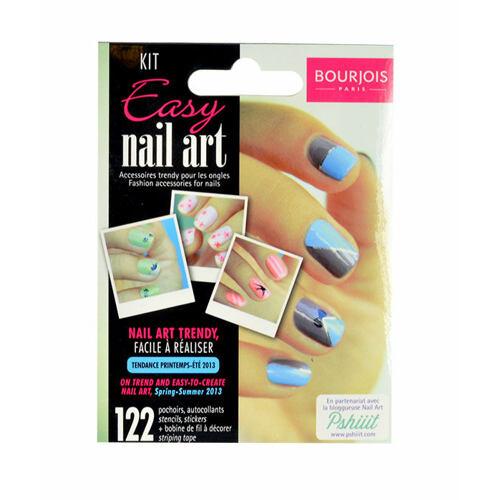 BOURJOIS Paris Easy Nail Art lak na nehty 1 ks pro ženy